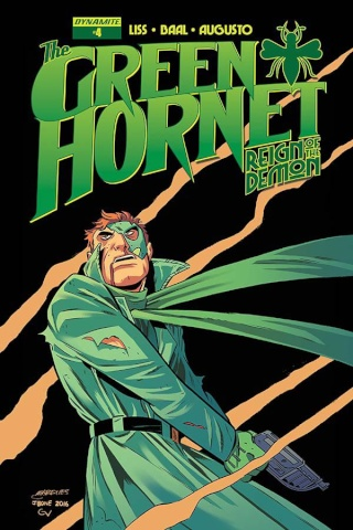 The Green Hornet: Reign of the Demon #4 (Marques Cover)