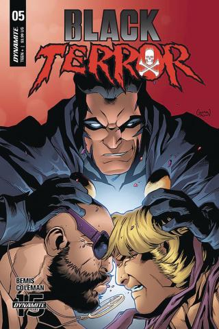 Black Terror #5 (Coleman Cover)
