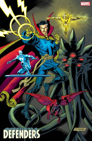 Defenders #3 (Nowlan Cover)