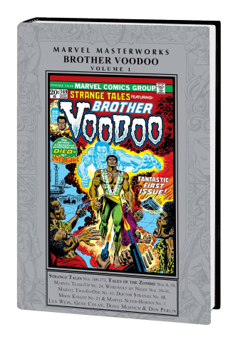 Brother Voodoo Vol. 1 (Marvel Masterworks)