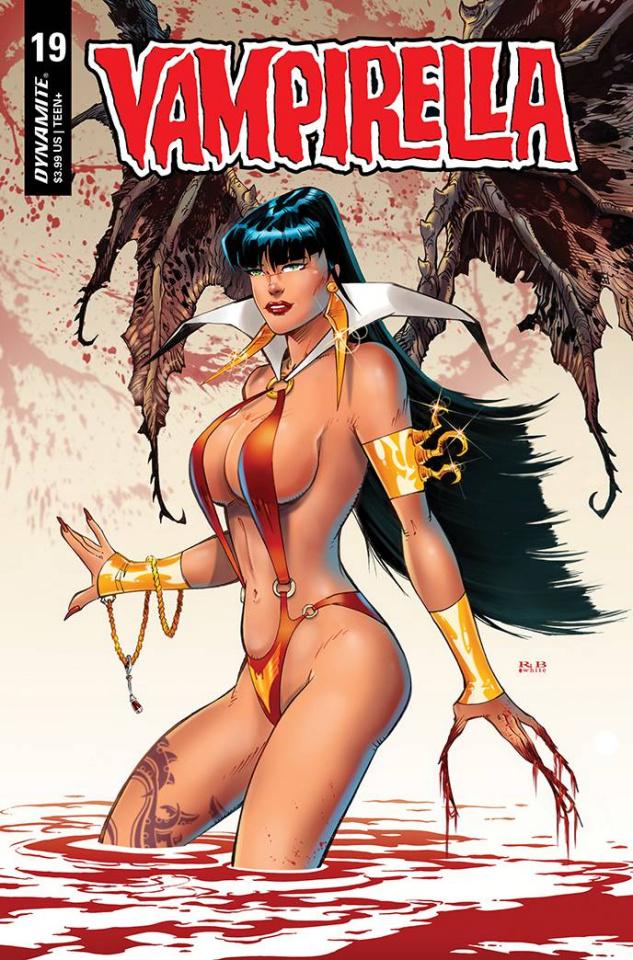 Vampirella #19 (Premium R.B. White Cover)