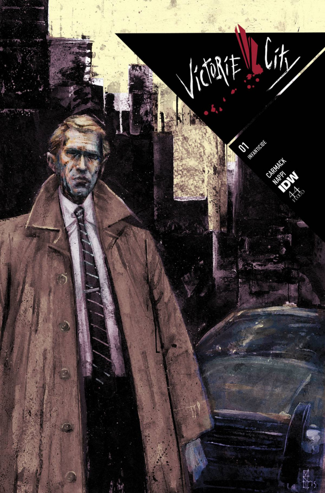 Victorie City #1 (Subscription Cover)