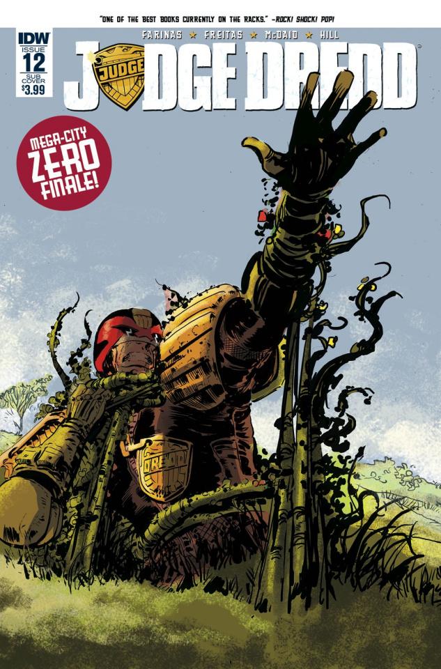 Judge Dredd #12 (Subscription Cover)