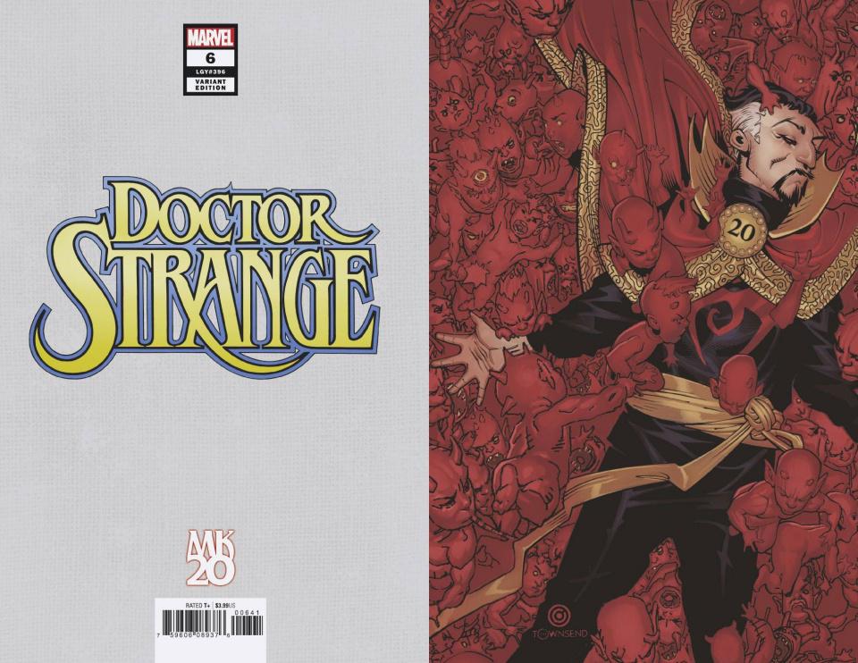 Doctor Strange #6 (Bachalo Virgin Cover)