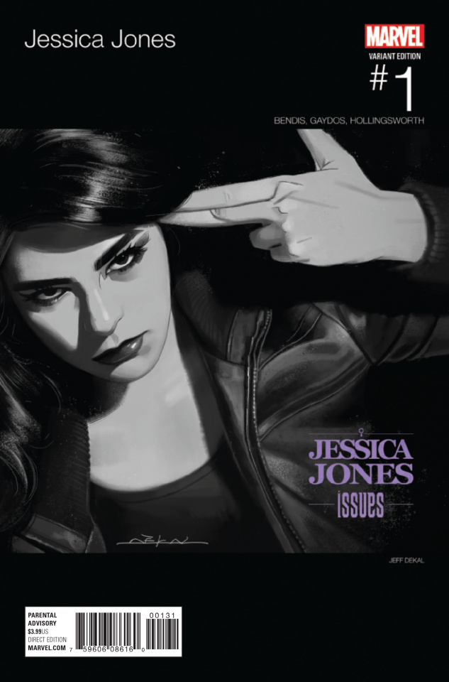 Jessica Jones #1 (Dekal Hip Hop Cover)