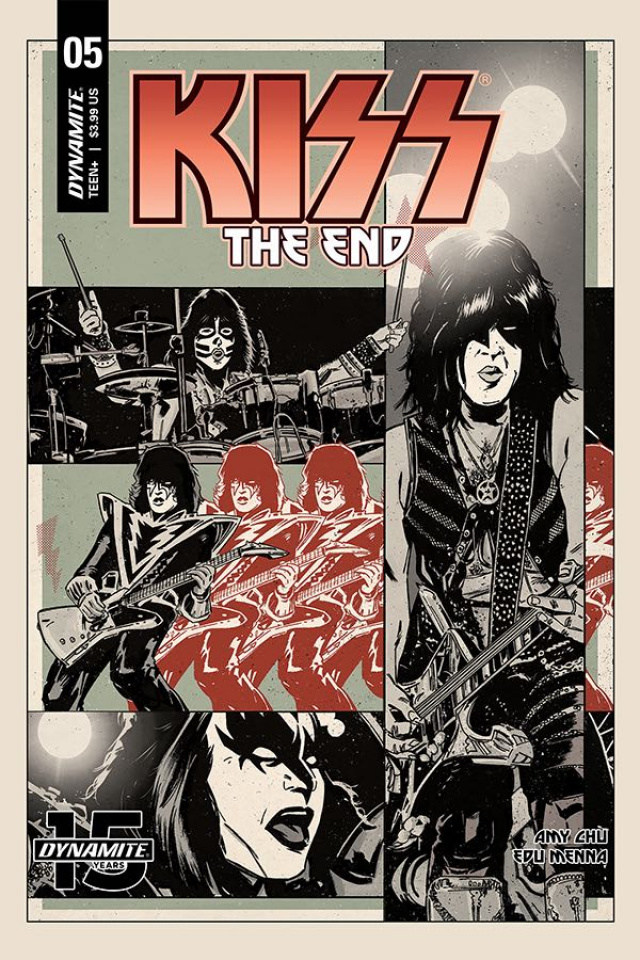 KISS: The End #5 (Fornes Cover)
