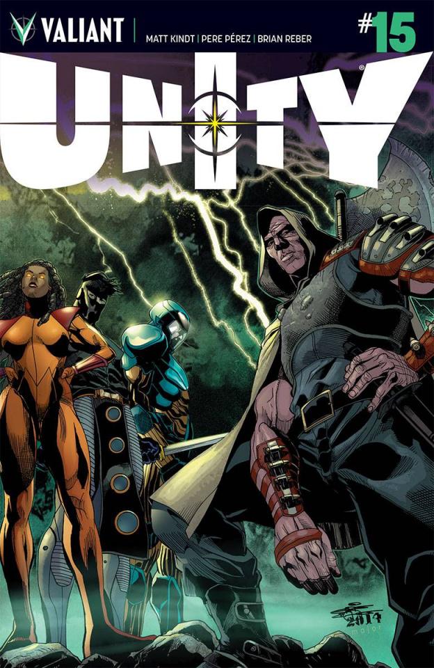Unity #15 (20 Copy Chriscross Cover)