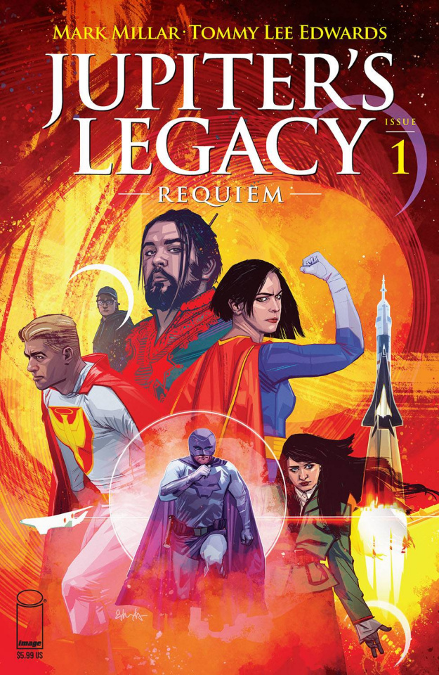 Jupiter's Legacy: Requiem #1 (Edwards Cover)