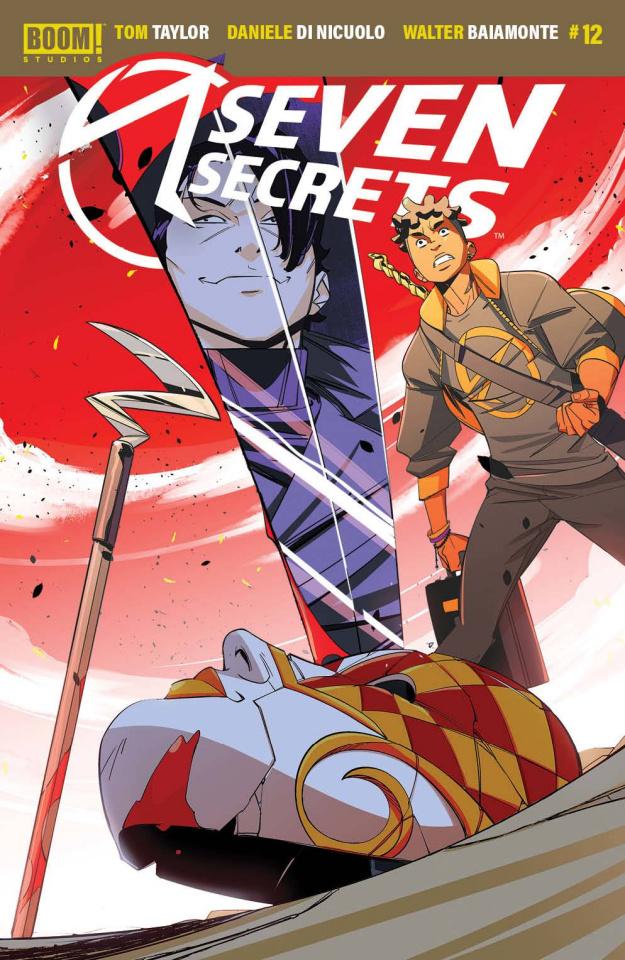 Seven Secrets #12 (Di Nicuolo Cover)