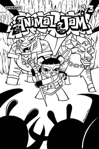 Animal Jam #3 (Coloring Book Cover)