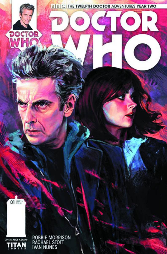 Doctor Who: New Adventures with the Twelfth Doctor, Year Two #1 (Zhang Cover)