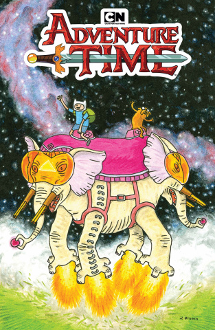 Adventure Time #75 (Brown Cover)