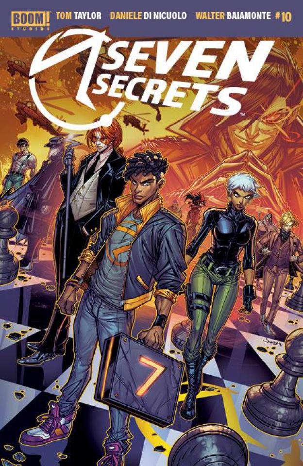 Seven Secrets #10 (Meyers Cover)