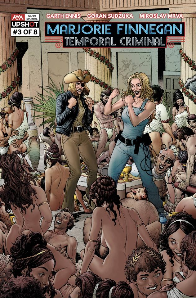 Marjorie Finnegan: Temporal Criminal #3 Clarke Cover)