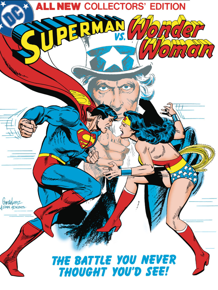 Superman vs. Wonder Woman (Tabloid Edition)