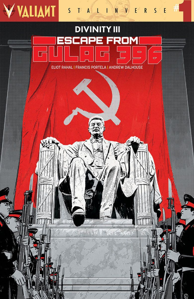 Divinity III: Escape From Gulag 396 #1 (20 Copy Kan Cover)