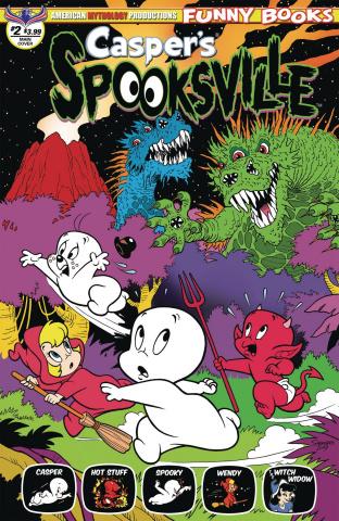 Casper's Spooksville #2 (Shanower Cover)