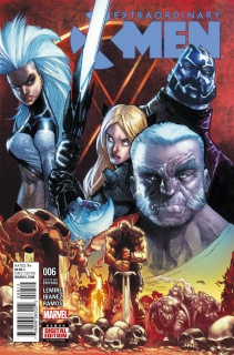 Extraordinary X-Men #6 (Ramos 2nd Printing)