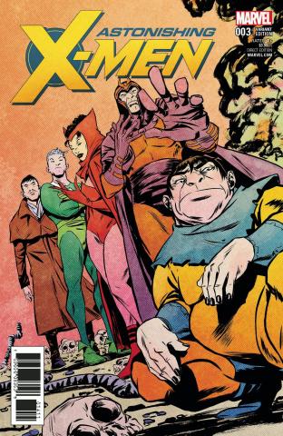 Astonishing X-Men #3 (Greene Villian Cover)