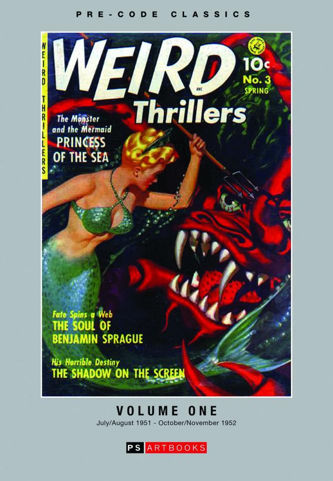 Weird Adventures Thrillers Vol. 1
