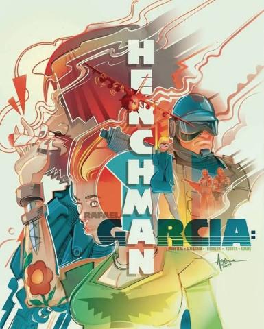 Rafael Garcia: Henchman #2 (Arocena Cover)