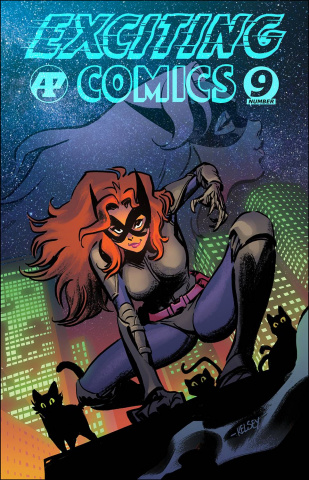 Exciting Comics #9 (Shannon Cover)
