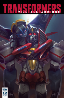 The Transformers: Till All Are One #12 (Pitre-Durocher Cover)