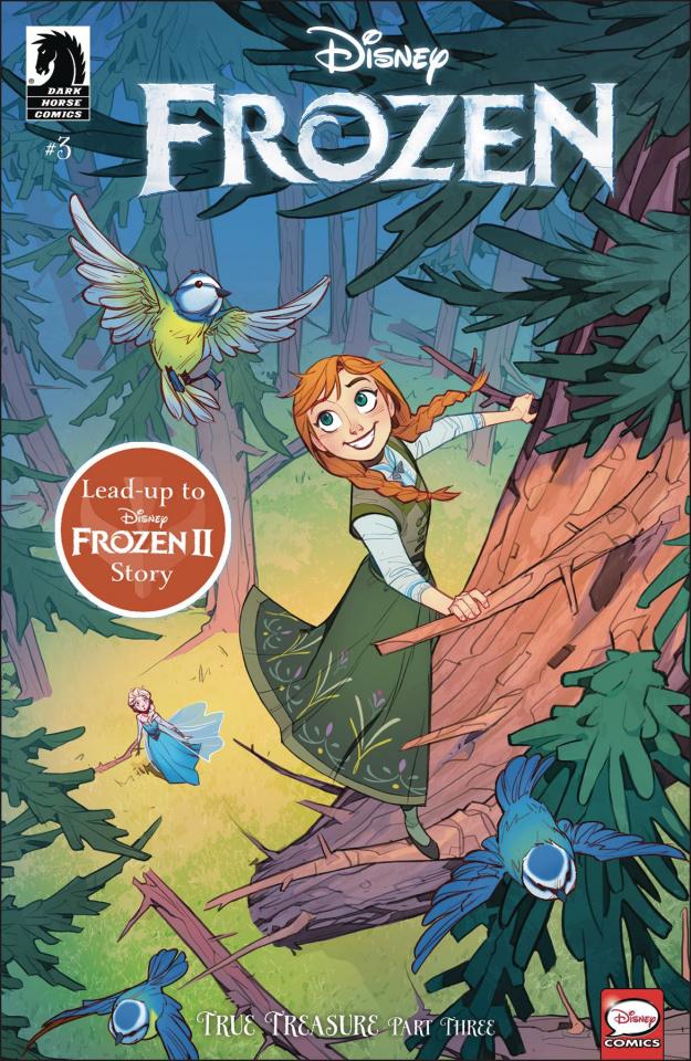 Frozen: True Treasure #3 (Petrovich Cover)