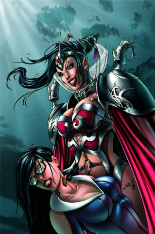 Grimm Fairy Tales #87 (Qualano Cover)