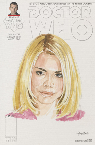 Doctor Who: New Adventures with the Ninth Doctor #15 (Myers Cover)