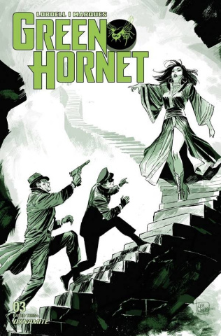 Green Hornet #3 (Weeks Cover)