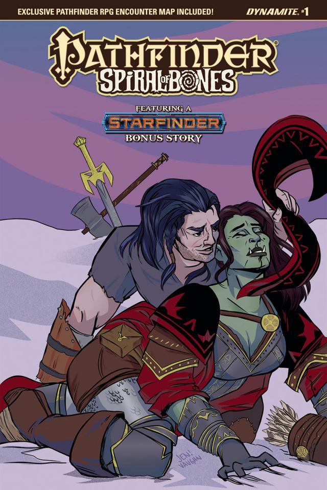 Pathfinder: Spiral of Bones #1 (Vaughn Cover)