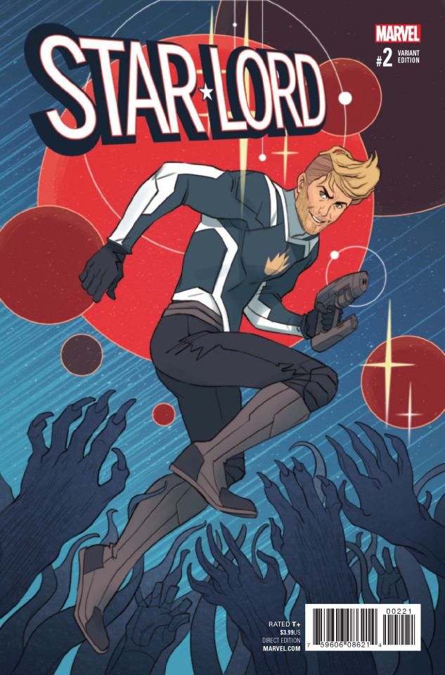 Star-Lord #2 (Sauvage Cover)