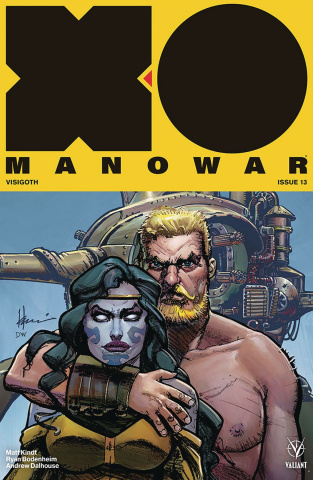 X-O Manowar #13 (50 Copy Icon Chaykin Cover)