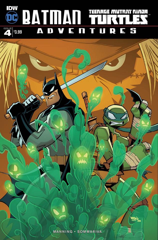 Batman / Teenage Mutant Ninja Turtles Adventures #4