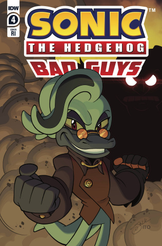 Sonic the Hedgehog: Bad Guys #4 (10 Copy Lawrence Cover)