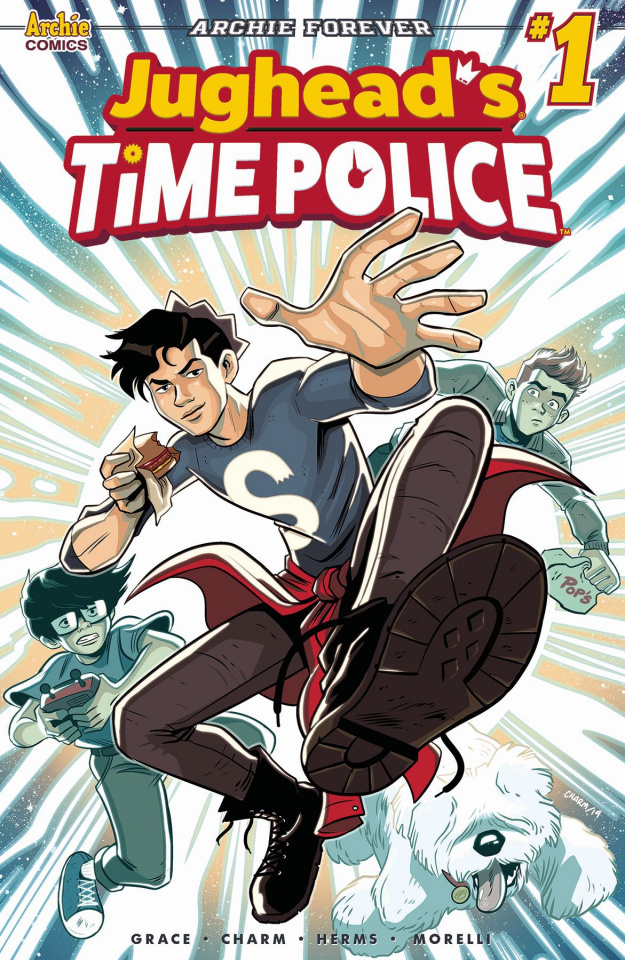 Jughead's Time Police #1 (Charm Cover)