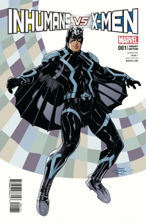 IvX #1 (Inhumans Cover)