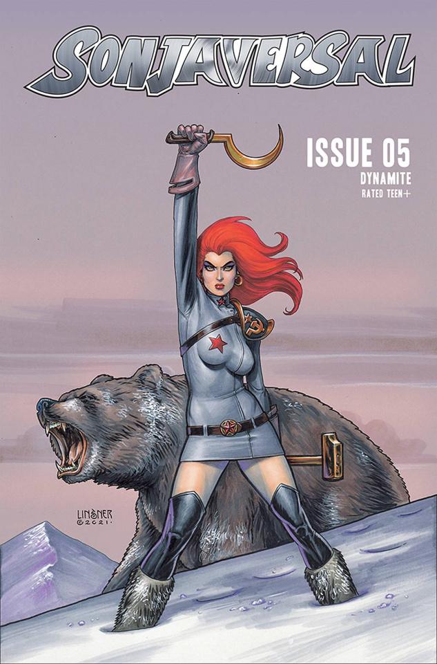 Sonjaversal #5 (Linsner Cover)