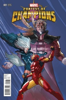 Contest of Champions #1 (Yu Cover)