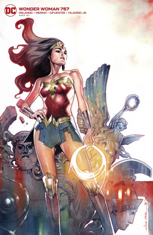 Wonder Woman #757 (Card Stock Olivier Coipel Cover)