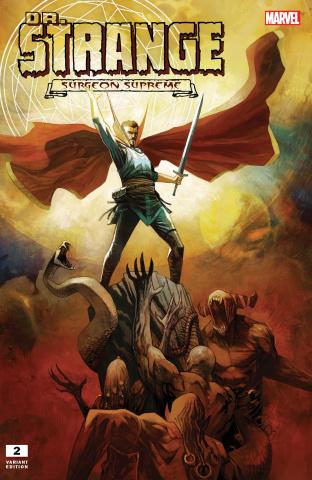 Dr. Strange #2 (Huddleston Cover)