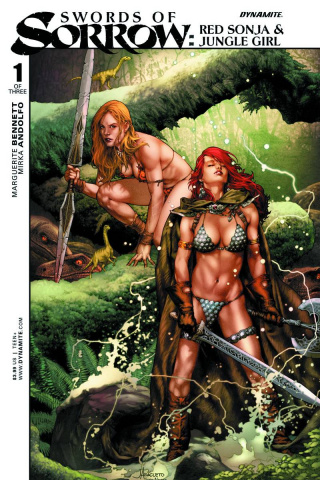 Swords of Sorrow: Red Sonja & Jungle Girl #1 (Anacleto Cover)