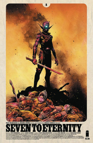 Seven to Eternity #8 (Opena & Hollingsworth Cover)