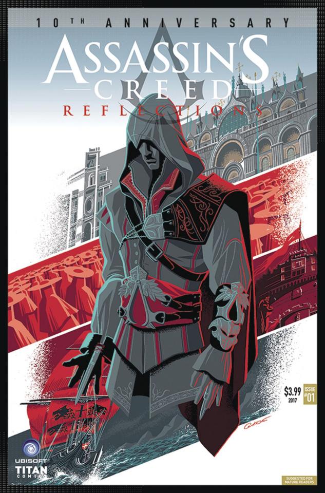 Assassin's Creed: Reflections #1 (Caltsoudas Cover)
