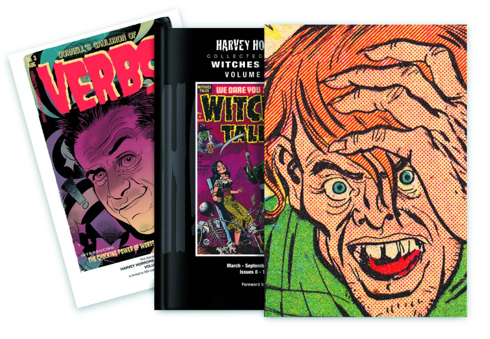 Harvey Horrors: Witches Tales Vol. 2: Slipcase Edition