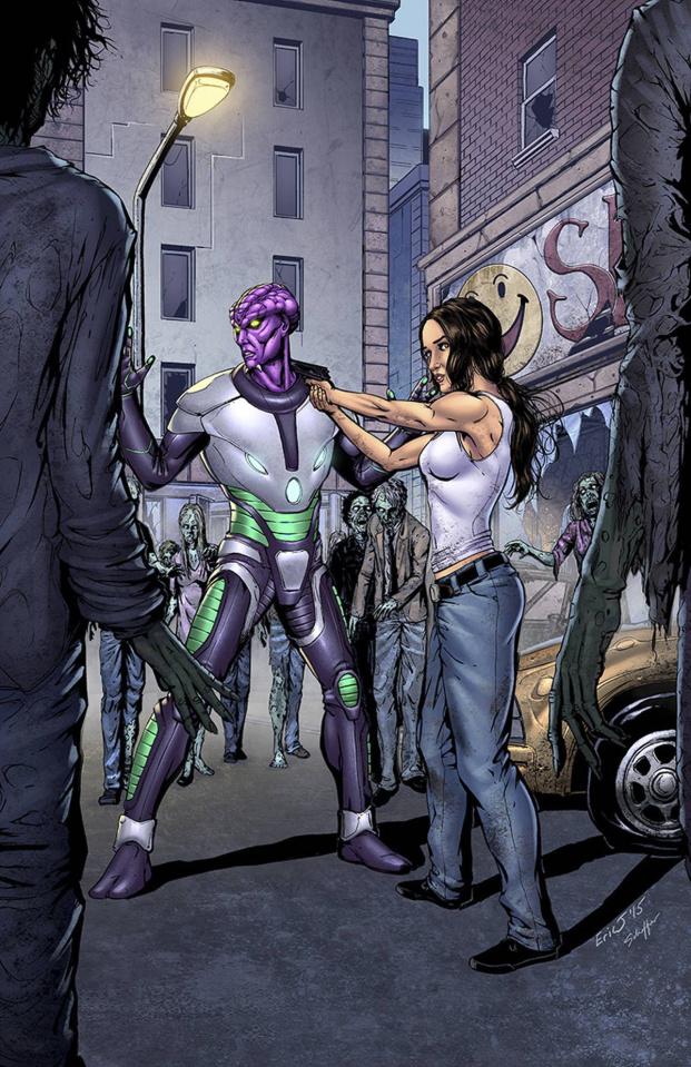 Aliens vs. Zombies #2