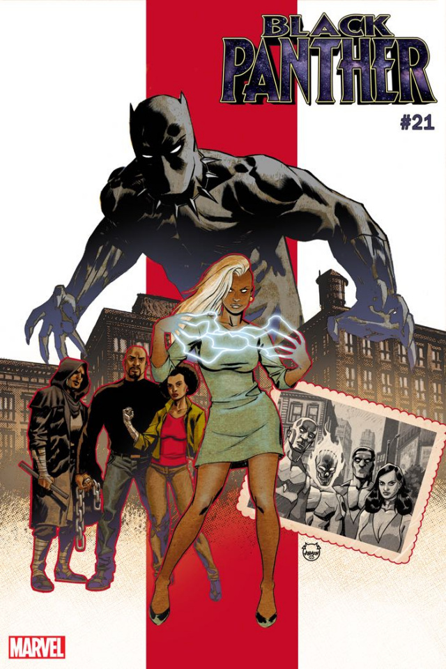Black Panther #21 (Johnson Cover)