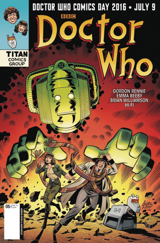 Doctor Who: New Adventures with the Fourth Doctor #5 (Doctor Who Day Cover)