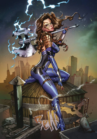 Belle vs. The Black Knight #1 (Dooney Cover)